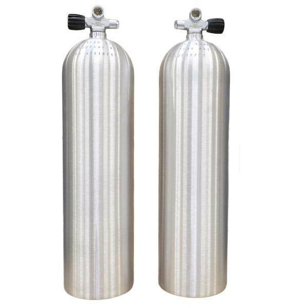 Sidemount cylinders
